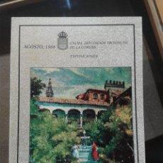 Libros antiguos: JUAN LUIS PINTURAS EXCMA DIPUTACION PROVINCIAL DE LA CORUÑA 1986 64 PAGINAS COLOR Y B/N. Lote 48275326