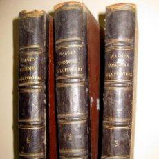 Libros antiguos: WAAGEN. MANUEL DE L'HISTOIRE DE LA PEINTURE. 1864. Lote 48458022