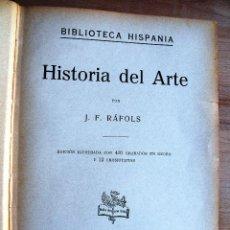 Libros antiguos: HISTORIA DE ARTE. Lote 155884986