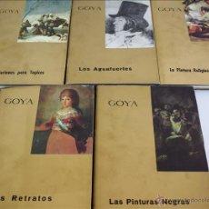 Libros antiguos: ANTONIO F. FUSTER. GOYA. 5 TOMOS. OBRA COMPLETA. HISPANO-INGLESA DE REASEGUROS S.A., MADRID, 1963-67. Lote 49102557