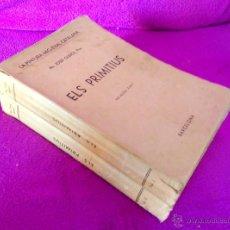 Libros antiguos: LA PINTURA MIG-EVAL CATALANA, PRIMITIUS, JOSEP GUDIOL 1927, VOL I, II.. Lote 49558932