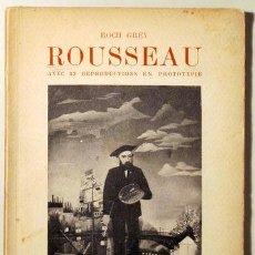 Libros antiguos: HENRI ROUSSEAU - PARIS 1922 - 32 REPRODUCTIONS EN PHOTOTYPIE. Lote 123403820