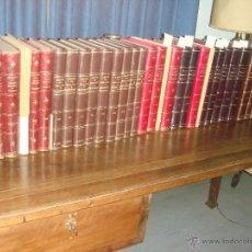 Libros antiguos: BOLETIN DE LA SOCIEDAD ESPAÑOLA DE EXCURSIONES. 34 VOL. 1897 A 1954 ARTE - ARQUEOLOGIA - HISTORIA.. Lote 32262577