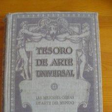 Libros antiguos: TESORO DE ARTE UNIVERSAL - EDICIONES HYMSA - PUBLICACIONES ALGO. Lote 50281074