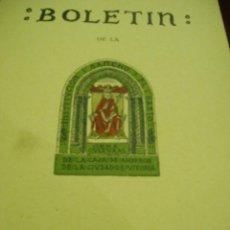 Libros antiguos: BOLETÍN DE LA INSTITUCIÓN SANCHO EL SABIO AÑO I- Nº 1-2---AÑO 1957. Lote 50308411