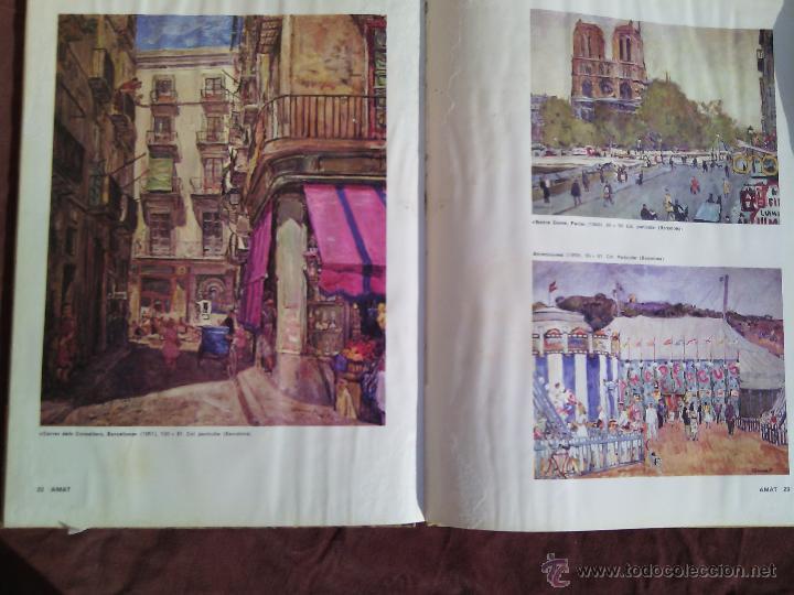 Libros antiguos: AMAT. Maestros actuales de la pintura y escultura catalanas. - Foto 3 - 50406971
