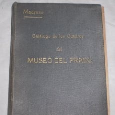 Libros antiguos: CATALOGO DE CUADROS DEL MUSEO DEL PRADO 1920. Lote 50413209