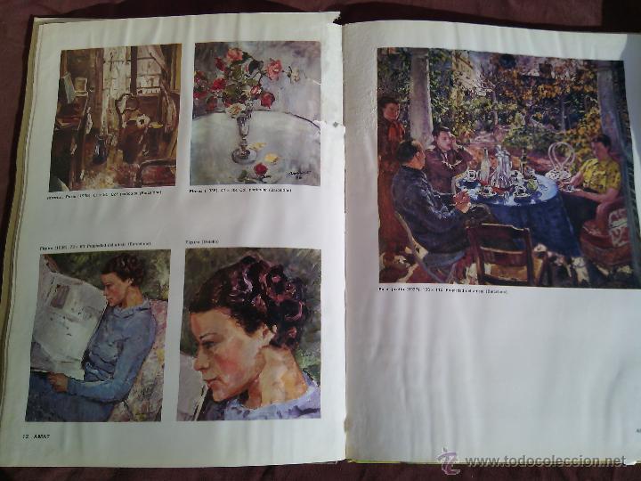 Libros antiguos: AMAT. Maestros actuales de la pintura y escultura catalanas. - Foto 5 - 50406971