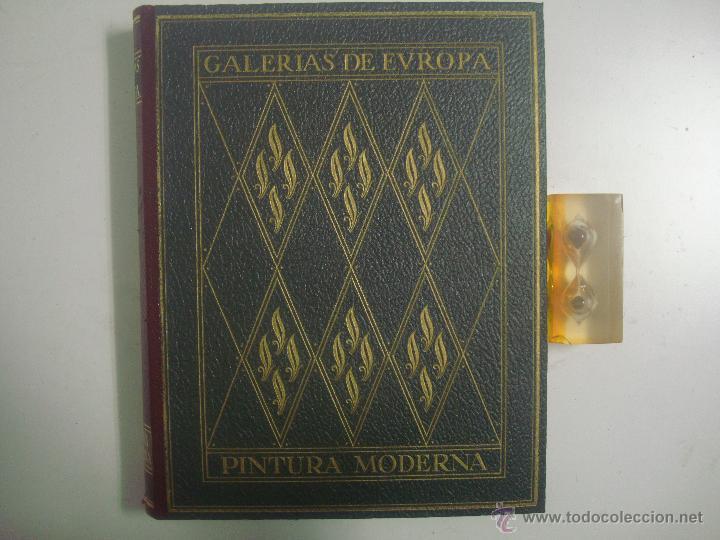EXCEPCIONAL ALBUM DE PINTURA MODERNA.ED. LABOR 1930. GRAN FOLIO. MUY ILUSTRADO (Libros Antiguos, Raros y Curiosos - Bellas artes, ocio y coleccion - Pintura)