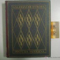 Libros antiguos: EXCEPCIONAL ALBUM DE PINTURA MODERNA.ED. LABOR 1930. GRAN FOLIO. MUY ILUSTRADO. Lote 50873567