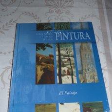 Libros antiguos: GRANDES TEMAS DE LA PINTURA CLUB INTERNACIONAL DEL LIBRO (EL PAISAJE). Lote 50945510