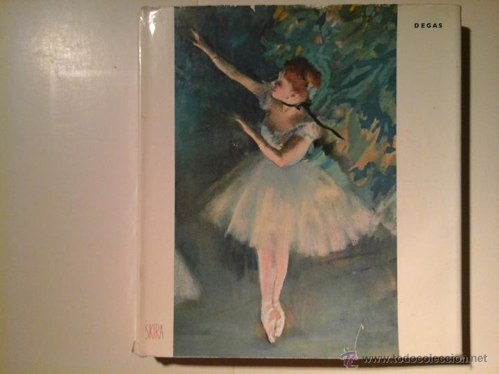 DEGAS. FRANÇOIS FOSCA. SKIRA 1954. IMPRESIONISMO (Libros Antiguos, Raros y Curiosos - Bellas artes, ocio y coleccion - Pintura)