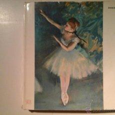 Libros antiguos: DEGAS. FRANÇOIS FOSCA. SKIRA 1954. IMPRESIONISMO. Lote 51082976