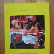 Libros antiguos: VARIACIONES SOBRE LA DONNA E MOBILE, SOLO DE GAITA, PARA HOMBRES, LUIS GARCIA ABRINES CALVO. Lote 52593544