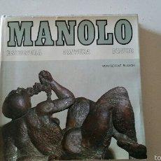 Libros antiguos: LOTE LIBROS ARTE, MANOLO HUGUÉ Y ANTONI CLAVE.. Lote 52610317