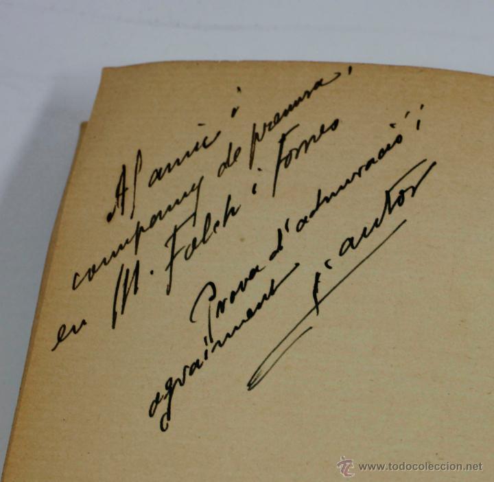 Libros antiguos: CAPS DE CASA, 30 DIBUJOS DE LLORENÇ BRUNET, dedicado por el autor a Folch i Torres, año 1923. - Foto 2 - 52782862