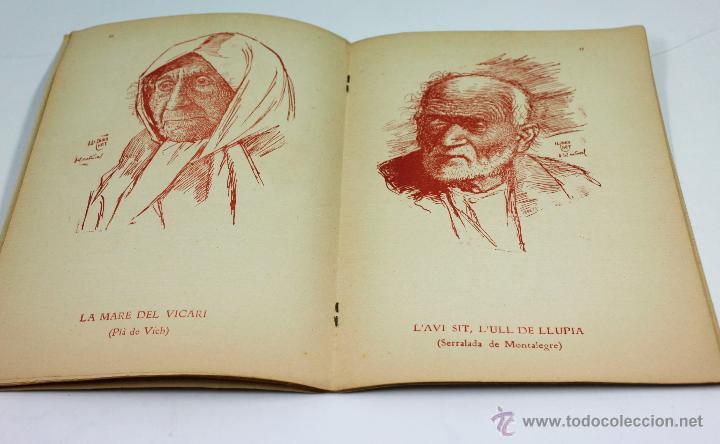 Libros antiguos: CAPS DE CASA, 30 DIBUJOS DE LLORENÇ BRUNET, dedicado por el autor a Folch i Torres, año 1923. - Foto 4 - 52782862