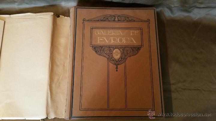 Libros antiguos: GALERÍAS DE EUROPA - Foto 2 - 53041082