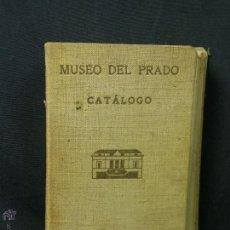 Libros antiguos: MANUAL MUSEO DEL PRADO CATALOGO 1933 18X11CMS. Lote 53853950