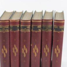 Libros antiguos: L-5379. GALERIAS DE EUROPA. SEIS TOMOS. EDITORIAL LABOR. AÑOS TREINTA.. Lote 54630687