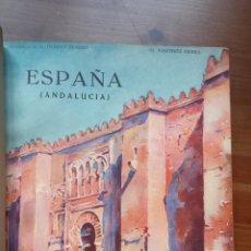 Libros antiguos: 1930 G. MARTÍNEZ SIERRA, ESPAÑA (ANDALUCÍA) ACUARELAS DE MARIUS HUBERT-ROBERT, EDICIONES EDITA. Lote 54751767
