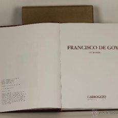 Libros antiguos: 7221 - FRANCISCO DE GOYA(1746-1828). JESÚS HARO. EDI. CARRIGGIO. 2007.. Lote 54370403