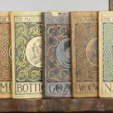 Libros antiguos: LP-159 - THE MASTERPIECES OF. 7 VOLUM. VV. AA.( VER DESCRIP). EDIT. CARSON Y NICOL. 1907-1917.. Lote 51516761