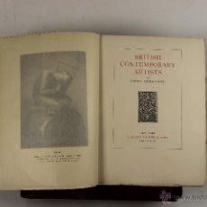 Libros antiguos: 5545- BRITISH CONTEMPORARY ARTISTS. COSMO MONKHOUSE. EDIT. CHARLES SCRIBNER. 1899.. Lote 46037271