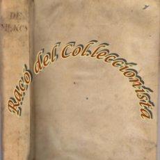 Libros antiguos: NOTICIAS DE LA VIDA Y OBRAS DE D. ANTONIO RAFAEL MENGS, EDITOR JOSEPH NICOLAS DE AZARA, 1780. Lote 54872476