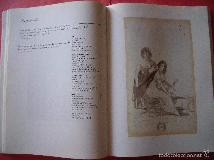Libros antiguos: GOYA.-LOS CAPRICHOS.-DIBUJOS Y AGUAFUERTES.-CENTRAL HISPANO.-AÑO 1994. - Foto 2 - 57852614