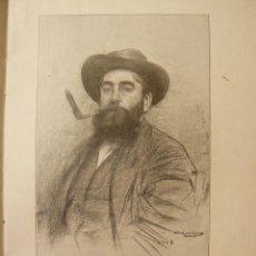 Libros antiguos: CATÀLEG DELS RETRATS DIBUIXATS PER EN R.CASAS DONATIU AL MUSEU DE BARCELONA 1909. Lote 58236938