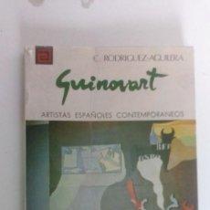 Libros antiguos: LIBRO DE GUINOVART FIRMADO POR CESÁREO RODRIGUEZ. Lote 58335667
