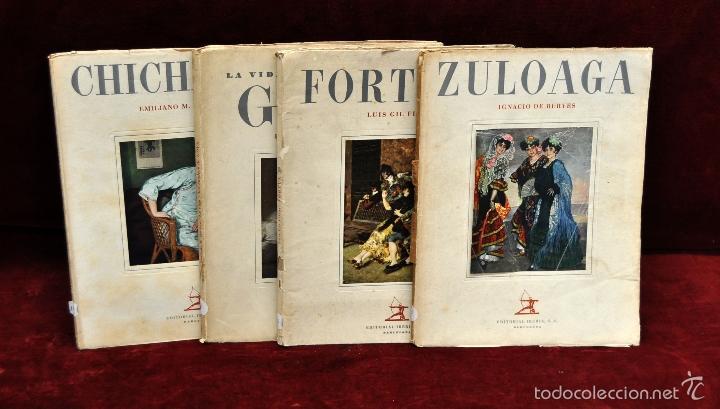 LOTE DE 4 REVISTAS DE ARTE. EDITORIAL IBERIA. ZULOAGA, GOYA, CHICHARRO Y FORTUNY (Libros Antiguos, Raros y Curiosos - Bellas artes, ocio y coleccion - Pintura)