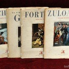 Libros antiguos: LOTE DE 4 REVISTAS DE ARTE. EDITORIAL IBERIA. ZULOAGA, GOYA, CHICHARRO Y FORTUNY. Lote 162573901