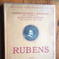 Libros antiguos: RUBENS PAS ANQUETIN ED NILSSON PARIS 1924 24 LÀMINES MOLT BON ESTAT V FOTOS. Lote 59624343