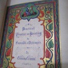 Libros antiguos: TREATISE ON PAINTING. CENNINO CENNINI. 1844.. Lote 60908347