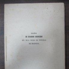 Libros antiguos: GALERIA DECUADROS ESCOGIDOS DEL REAL MUSEO DE PINTURAS DE MADRID. 1858. GRABADOS SOBRE ACERO. VER . Lote 62039572
