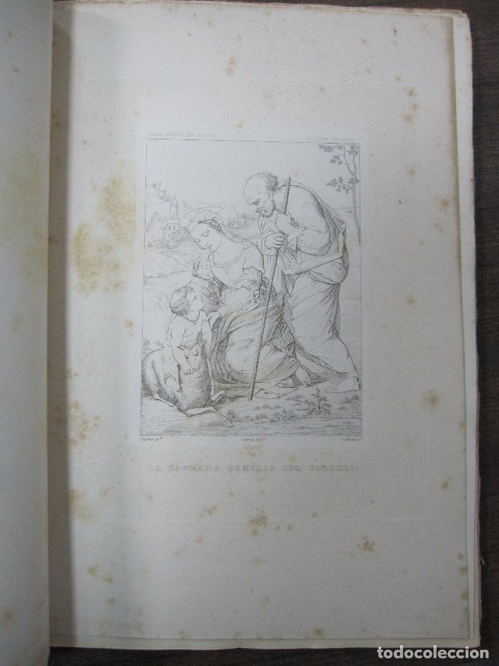 Libros antiguos: GALERIA DECUADROS ESCOGIDOS DEL REAL MUSEO DE PINTURAS DE MADRID. 1858. GRABADOS SOBRE ACERO. VER - Foto 10 - 62039572