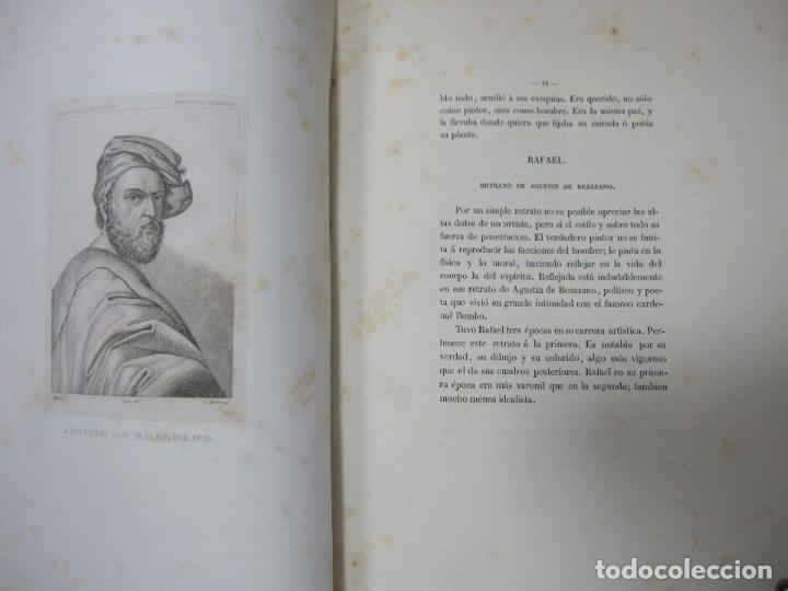 Libros antiguos: GALERIA DECUADROS ESCOGIDOS DEL REAL MUSEO DE PINTURAS DE MADRID. 1858. GRABADOS SOBRE ACERO. VER - Foto 12 - 62039572
