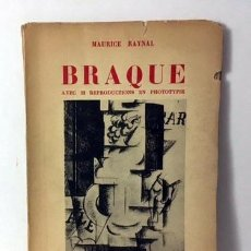 Libros antiguos: BRAQUE. 1924 (COLLECTION LES ARTISTES NOUVEAUX (CON 32 REPRODUCCIONES EN FOTOTIPIA. Lote 64424155