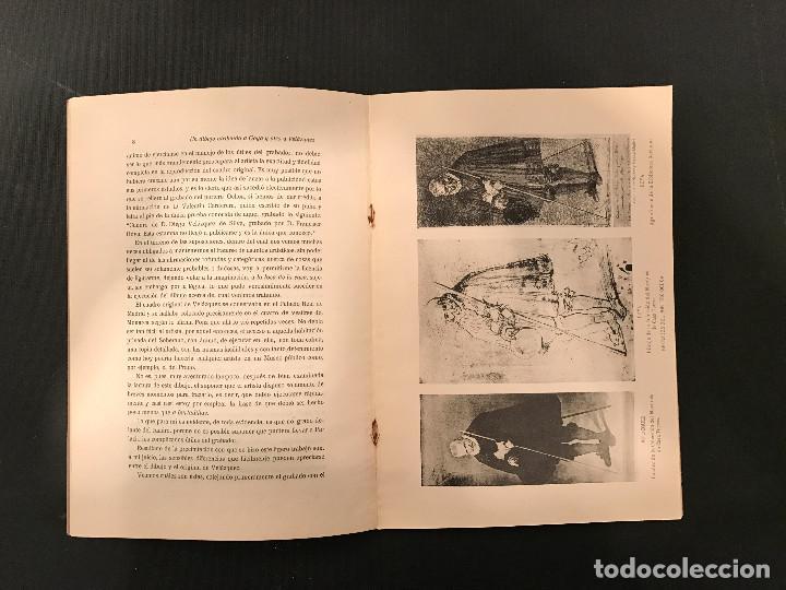 Libros antiguos: 1922 Un dibujo atribuido a Goya y otro a Velázquez de la colección del Marqués de Casa-Torres - Foto 4 - 72689307