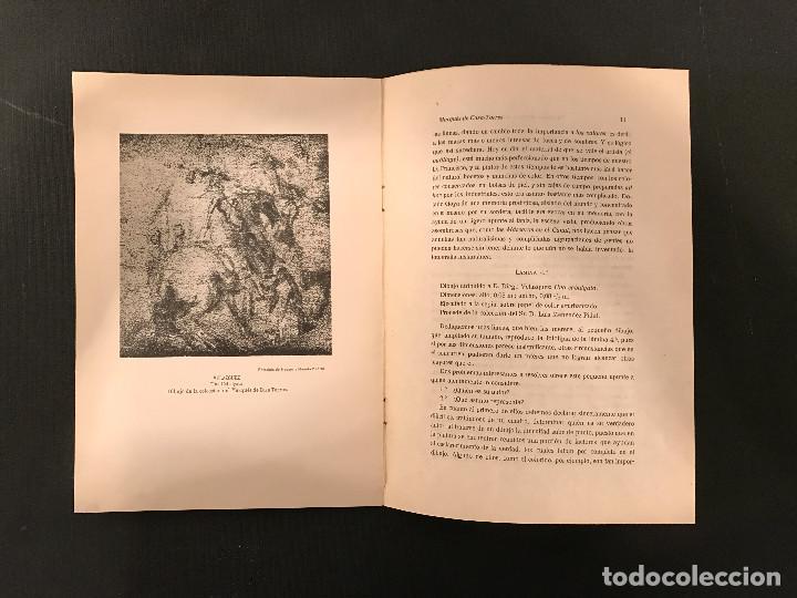 Libros antiguos: 1922 Un dibujo atribuido a Goya y otro a Velázquez de la colección del Marqués de Casa-Torres - Foto 5 - 72689307