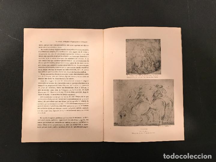 Libros antiguos: 1922 Un dibujo atribuido a Goya y otro a Velázquez de la colección del Marqués de Casa-Torres - Foto 6 - 72689307