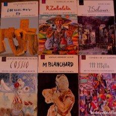 Libros antiguos: 6 LIBROS COLECCIÓN ARTISTAS ESPAÑOLES CONTEMPORÁNEOS. AÑOS 70.. Lote 73701795