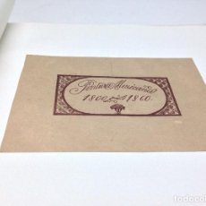 Libros antiguos: ROBERTO MONTENEGRO PINTURA MEXICANA 1800-1860 MEXICO 1933. Lote 75123423