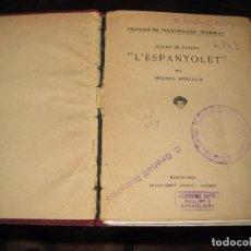 Libros antiguos: L'ESPANYOLET . PINTOR JOSEPH DE RIBERA . POR MIQUEL UTRILLO . ESTABLIMENT GRAFIC THOMAS AÑOS 20 ? . Lote 75744615