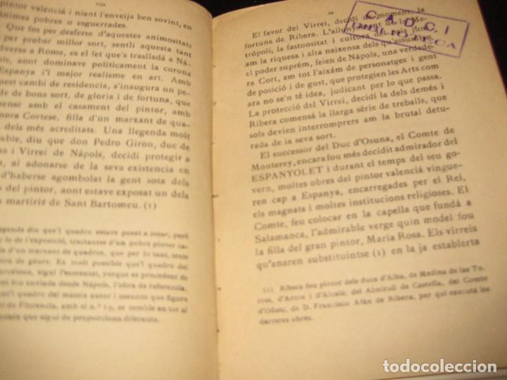 Libros antiguos: Lespanyolet . pintor joseph de ribera . por miquel utrillo . establiment grafic thomas años 20 ? - Foto 3 - 75744615