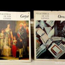 Libros antiguos: PINACOTECA DE LOS GENIOS. 159 EJEMPLARES. (VER DESCRIP). EDIT. CODEX. 1964.. Lote 76843775