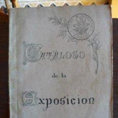 Libros antiguos: CATÁLOGO DE LA PRIMERA EXPOSICIÓN DE PINTURAS, ACUARELAS, ÓLEOS...1885. MUSEO MARTORELL. Lote 77502505