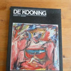 Libros antiguos: WILLEM DE KOONING (MODERN MASTERS SERIES,) HARRY F. GAUGH ED: ABBEVILLE PRESS 1983 136PP. Lote 77819077
